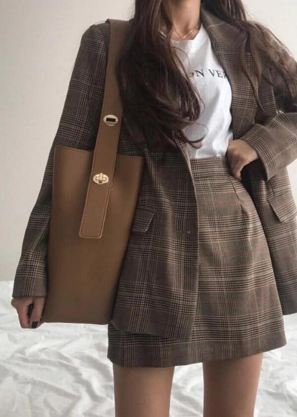 Hnedá kabelka do pracem do školy, na bežné nosenie, na rameno, praktická, na notebook